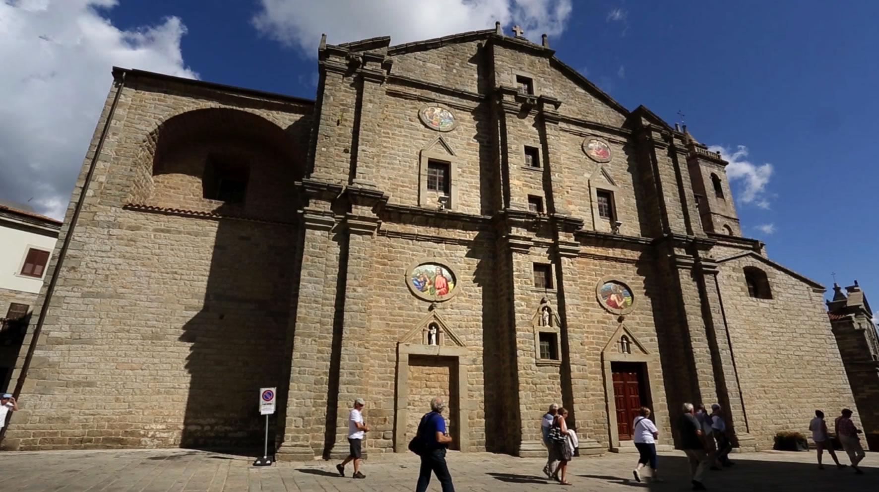 facciata Chiesa San Pietro, Tempio Pausania