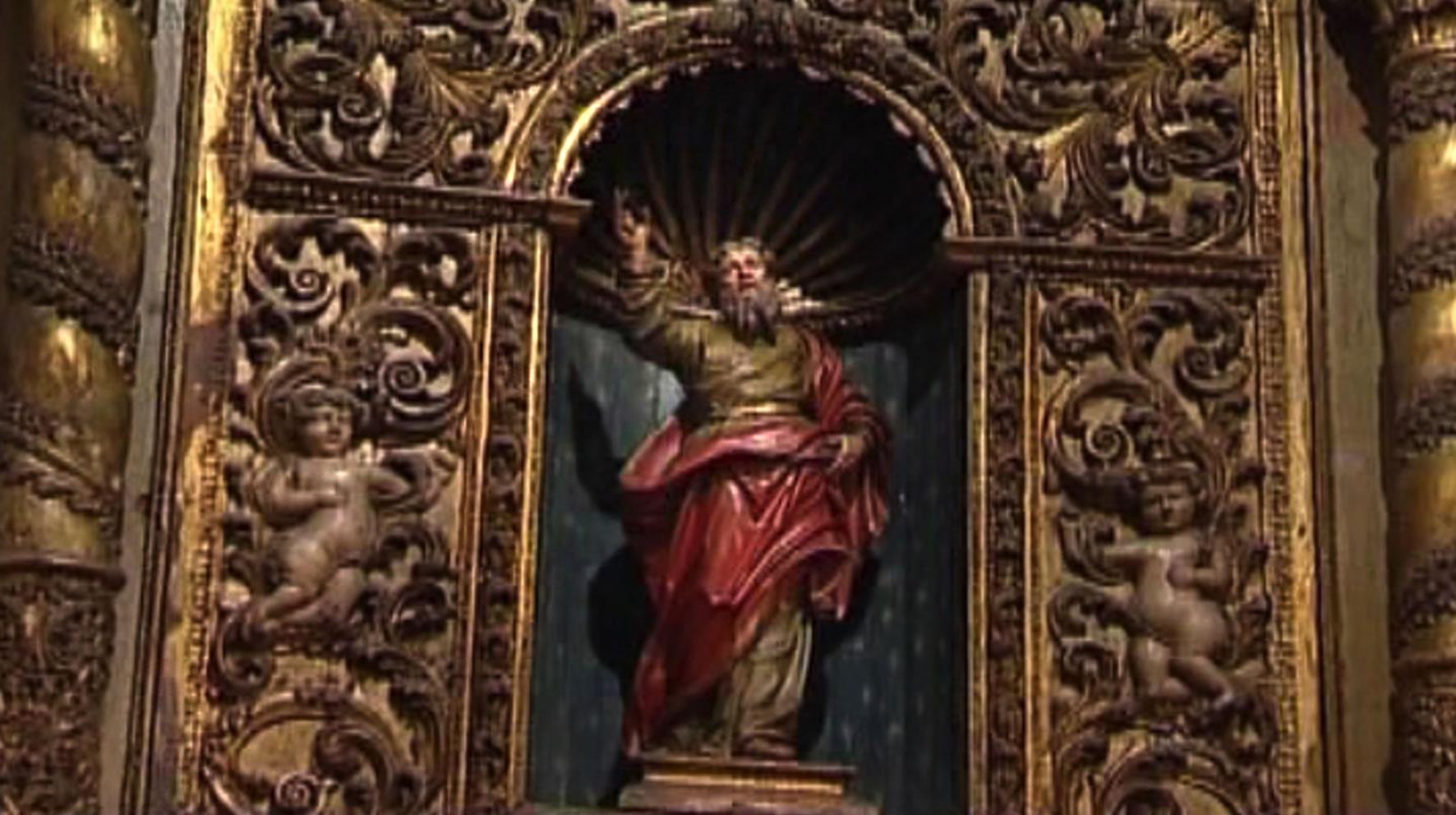 tabernacolo Oratorio del Rosario, Tempio Pausania