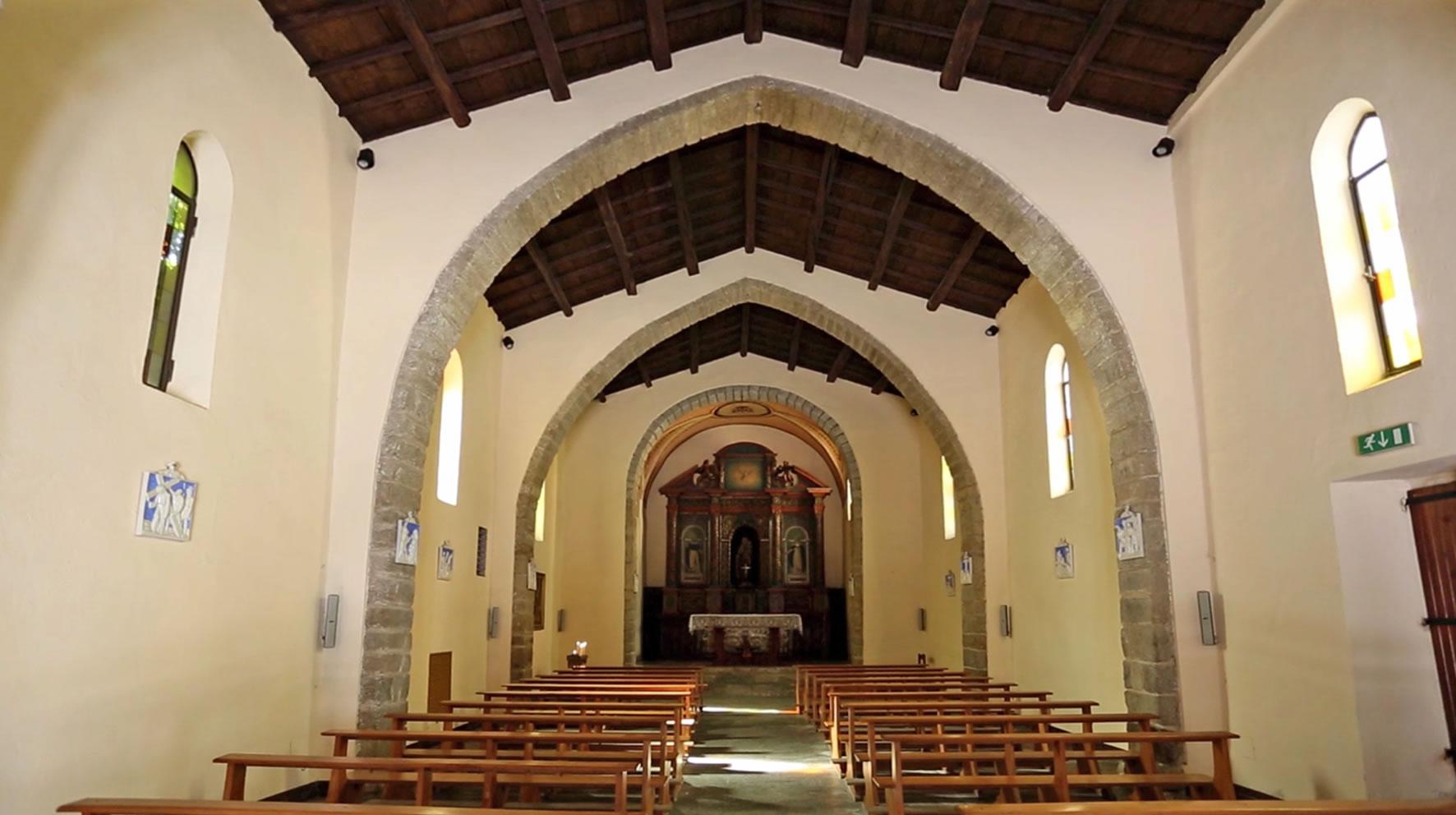 interno Chiesa del Purgatorio, Tempio Pausania