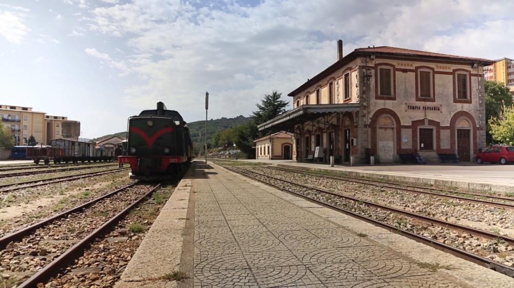 stazione ferroviaria tempio pausania