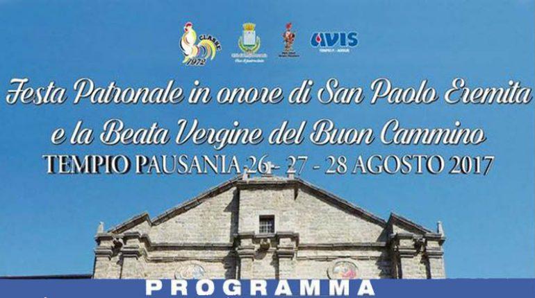 Festa patronale in onore di San paolo Eremita e la beata Vergine del Buon Cammino