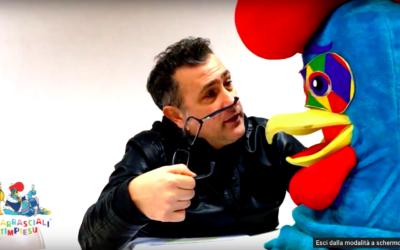"""La Fabbrica del Carnevale – Il Gallo Frisgjola e i protagonisti – """"Carrasciali Timpiesu 2018"""""""