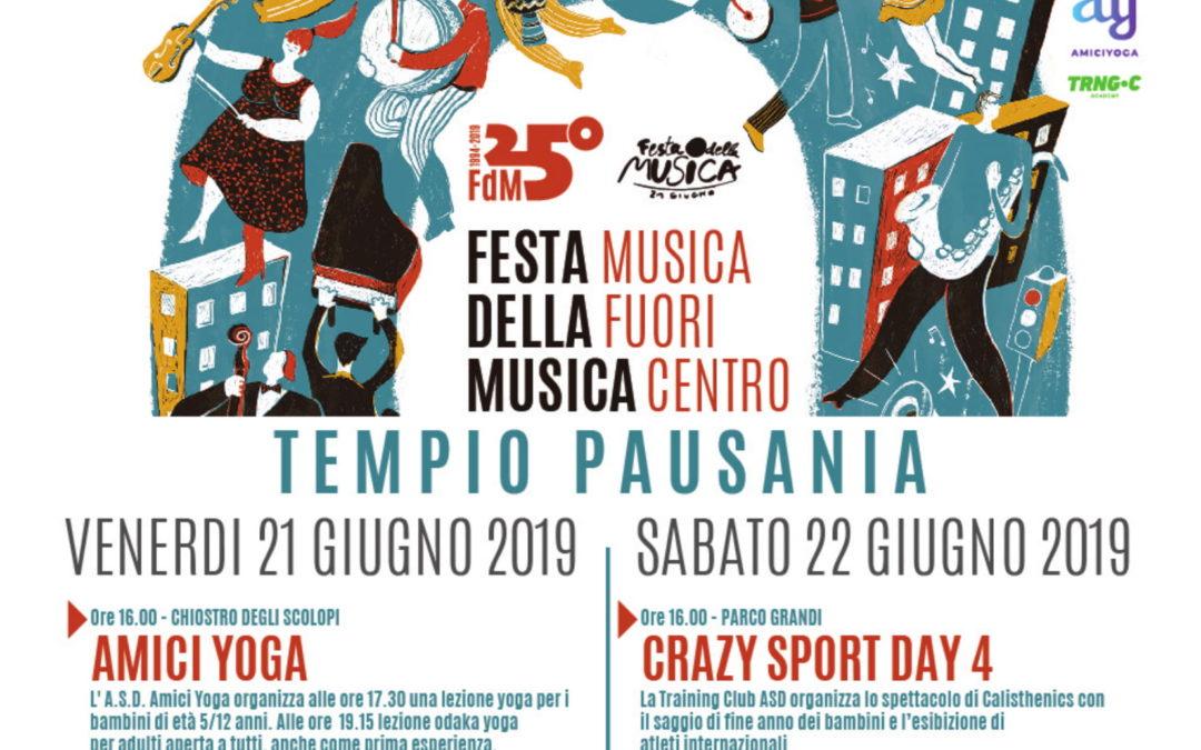 Oggi inizia a Tempio Pausania la Festa della Musica. Vi aspettiamo! Ecco il programma