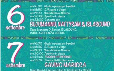 Festa Maria SS. Bambina – Tempio Pausania – 6-7-8 Settembre 2019