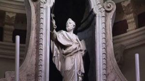 Statua San Pietro, Cattedrale Tempio Pausania