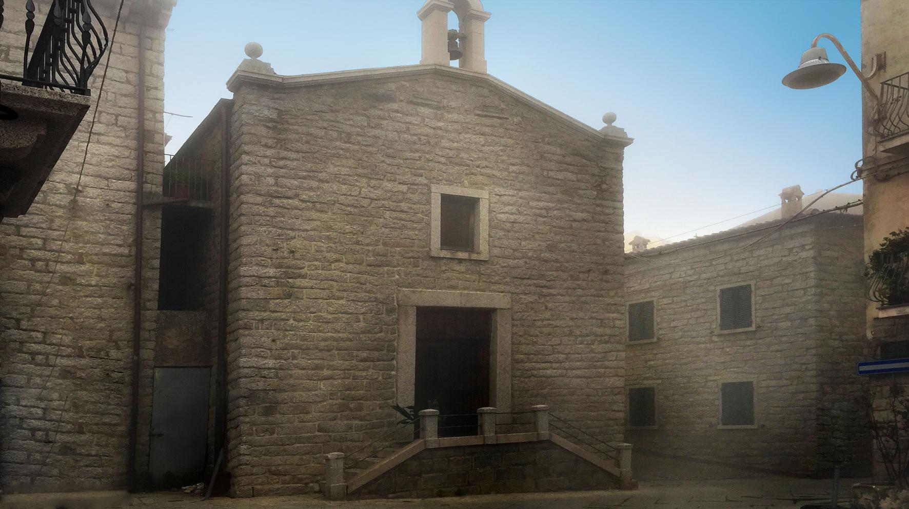 Chiesa Nostra Signora del Pilar, Tempio Pausania