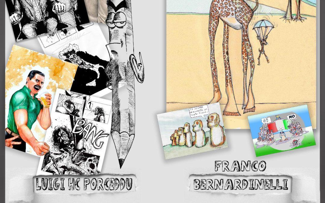 Mostra Bipersonale del Fumetto