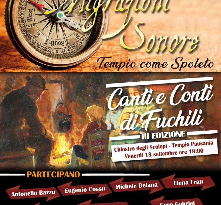 Canti e coro di fuchili – Migrazioni Sonore – 13/09/19 – Tempio Pausania