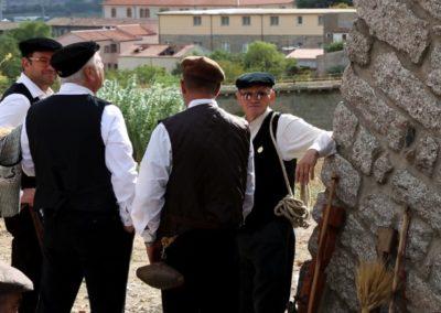 Tempio Pausania Folklore scenes