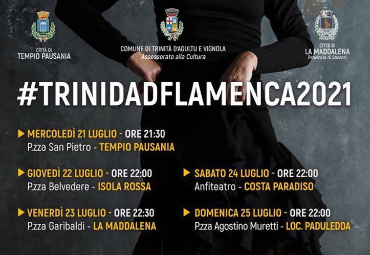 Il Festival Trinidad Flamenca arriva a Tempio